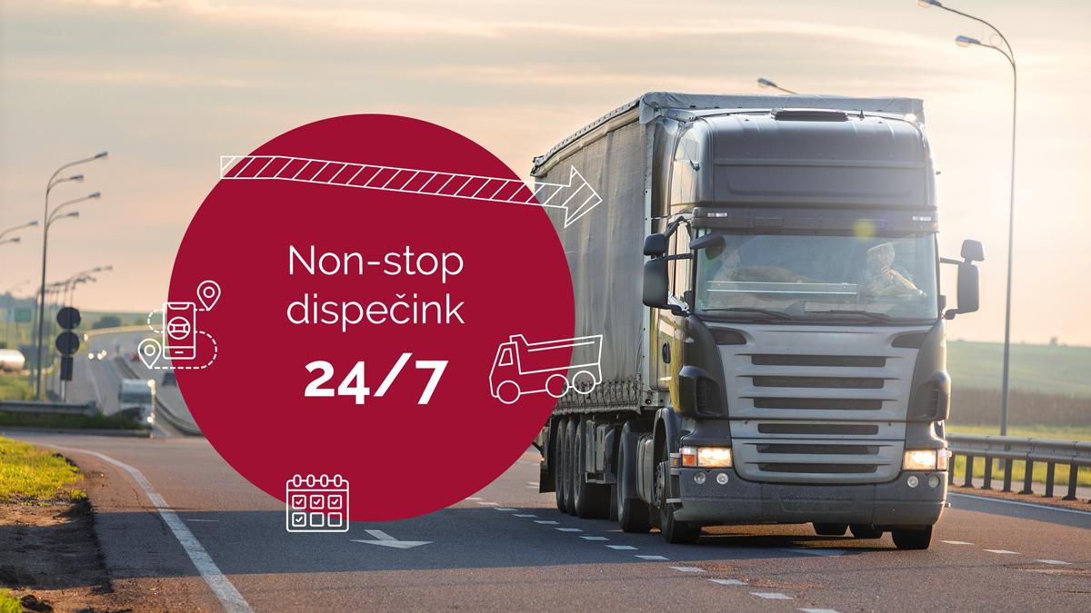 Optimalizace nákladů a monitoring vozidel - vozidla nad 12 ton