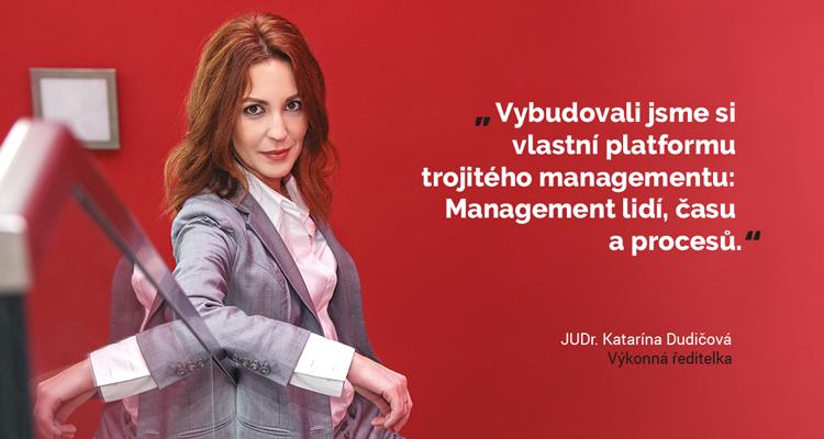 Katarína Dudicová - výkonná ředitelka
