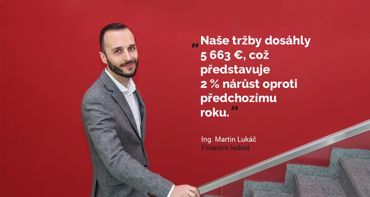 Martin Lukač - finanční ředitel
